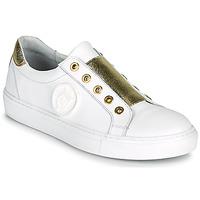 Zapatos Mujer Zapatillas bajas Myma PAGGI Blanco / Dorado