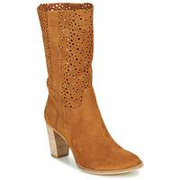 Zapatos Mujer Botines Myma PAGGA Camel