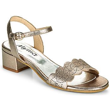 Zapatos Mujer Sandalias Myma POULISSADE Oro