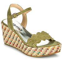 Zapatos Mujer Sandalias Myma POLIDO Kaki