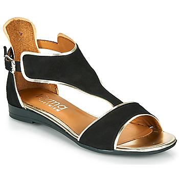 Zapatos Mujer Sandalias Myma POLIBO Negro