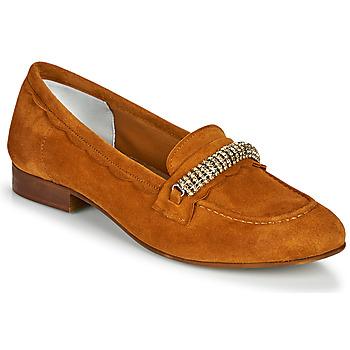 Zapatos Mujer Mocasín Myma PIBINA Camel