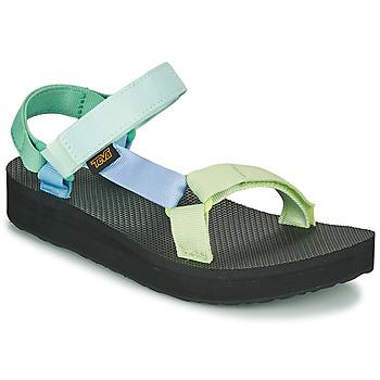 Zapatos Mujer Sandalias Teva MIDFORM UNIVERSAL Verde