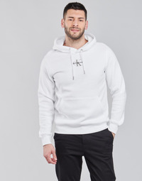 textil Hombre Sudaderas Calvin Klein Jeans NEW ICONIC ESSENTIAL HOODIE Blanco