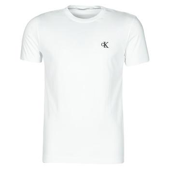 textil Hombre Camisetas manga corta Calvin Klein Jeans YAF Blanco