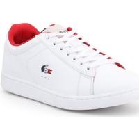 Zapatos Hombre Zapatillas bajas Lacoste Carnaby Evo 317 3 SPM 7-34SPM0003042 blanco