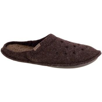 Zapatos Hombre Pantuflas Crocs Classic Slipper Marrón