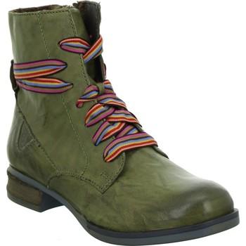 Zapatos Mujer Botas de caña baja Josef Seibel Sanja 04 Verdes