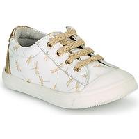 Zapatos Niña Zapatillas bajas GBB MATIA Blanco
