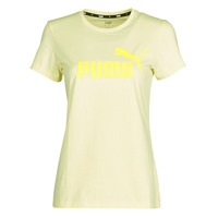 textil Mujer Camisetas manga corta Puma ESS Logo Tee (s) Amarillo