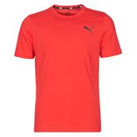 textil Hombre Camisetas manga corta Puma ESS TEE Rojo