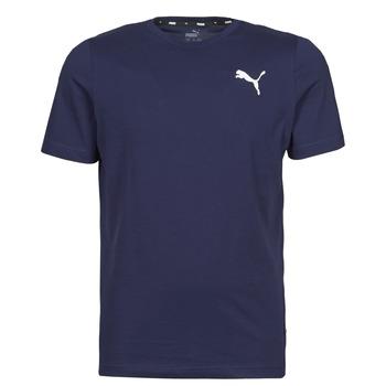 textil Hombre Camisetas manga corta Puma ESS TEE Marino