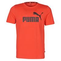 textil Hombre Camisetas manga corta Puma ESSENTIAL TEE Rojo