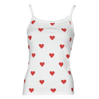 textil Mujer Camisetas sin mangas Petit Bateau DAYWEAR Blanco