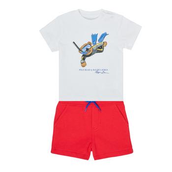 textil Niño Conjunto Polo Ralph Lauren SOULA Multicolor