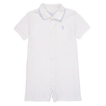textil Niño Monos / Petos Polo Ralph Lauren TONNY Blanco