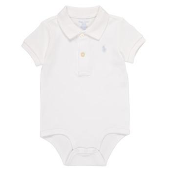 textil Niño Pijama Polo Ralph Lauren NOUVEL Blanco