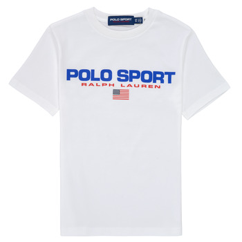 textil Niño Camisetas manga corta Polo Ralph Lauren DRONI Blanco