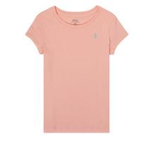 textil Niña Camisetas manga corta Polo Ralph Lauren SIDONIE Rosa