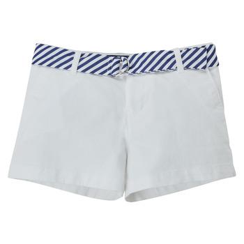 textil Niña Shorts / Bermudas Polo Ralph Lauren FILLI Blanco