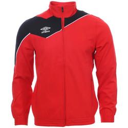 textil Hombre Chaquetas de deporte Umbro  Rojo