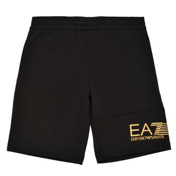 textil Niño Shorts / Bermudas Emporio Armani EA7 3KBS53-BJ05Z-1200 Negro / Oro