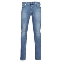 textil Hombre Vaqueros slim Diesel D-LUSTER Azul / Claro
