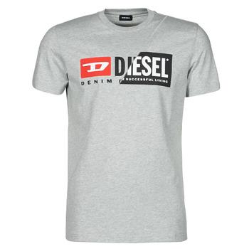 textil Hombre Camisetas manga corta Diesel 00SDP1-0091A-912 Gris