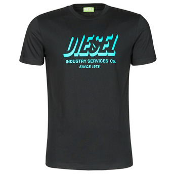 textil Hombre Camisetas manga corta Diesel A01849-0GRAM-9XX Negro