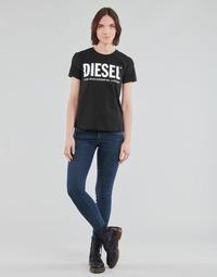 textil Mujer Vaqueros slim Diesel SLANDY-LOW Azul / Medium