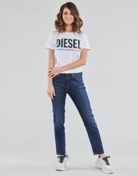 textil Mujer Vaqueros rectos Diesel D-JOY Azul / Medium