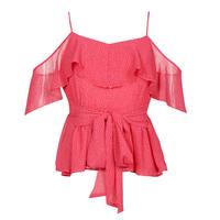 textil Mujer Tops / Blusas Guess SL PAULINA TOP Rosa