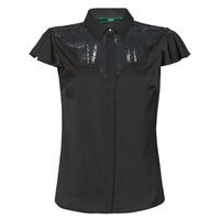 textil Mujer Tops / Blusas Guess SS RENATA TOP Negro