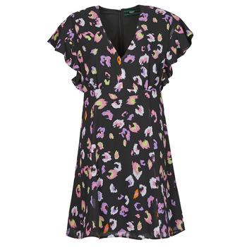textil Mujer Vestidos cortos Guess AYAR DRESS Negro / Multicolor