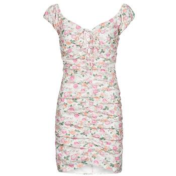 textil Mujer Vestidos cortos Guess INGRID DRESS Rosa / Claro