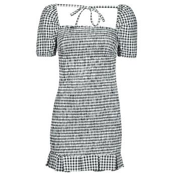 textil Mujer Vestidos cortos Guess AIDA  DRESS Negro / Blanco