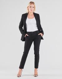 textil Mujer Pantalones con 5 bolsillos Guess ZOE PANTS Negro