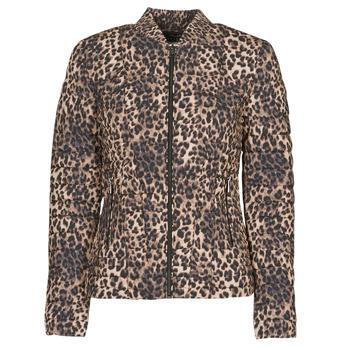 textil Mujer Plumas Guess VERA JACKET Leopardo