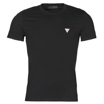 textil Hombre Camisetas manga corta Guess CN SS CORE TEE Negro
