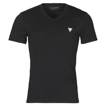 textil Hombre Camisetas manga corta Guess VN SS CORE TEE Negro