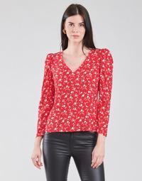 textil Mujer Tops / Blusas Naf Naf COLINE C1 Rojo