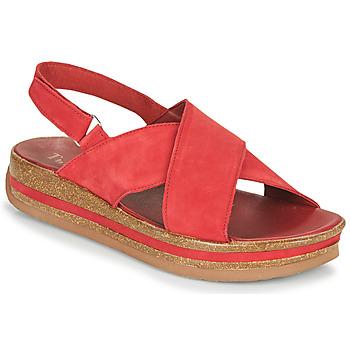 Zapatos Mujer Sandalias Think ZEGA Rojo