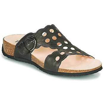 Zapatos Mujer Zuecos (Mules) Think MIZZI Negro