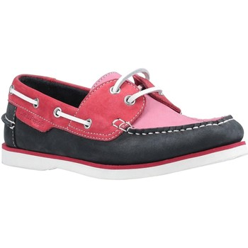 Zapatos Mujer Zapatos náuticos Hush puppies  Rosa/Marino