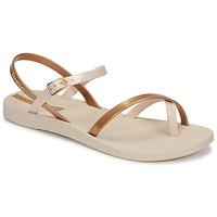 Zapatos Mujer Sandalias Ipanema Ipanema Fashion Sandal VIII Fem Beige / Oro