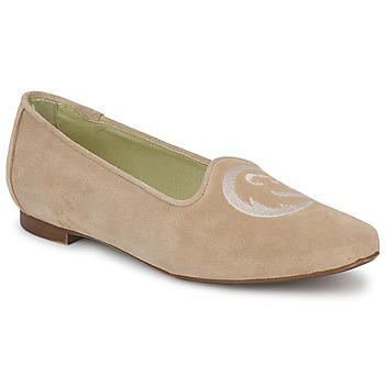 Zapatos Mujer Mocasín Stephane Gontard CALK Beige