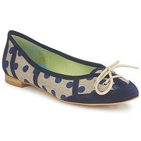 Zapatos Mujer Bailarinas-manoletinas Stephane Gontard KASTOR Marino