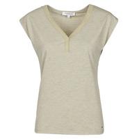 textil Mujer Camisetas manga corta Morgan DMAYA Beige