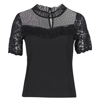 textil Mujer Camisetas manga corta Morgan DANY Negro
