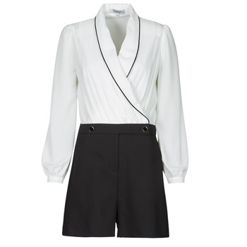 textil Mujer Monos / Petos Morgan SHAMIE Negro / Blanco